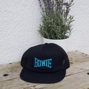Vintage BOWIE trucker hat